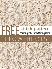 lots of free downloadable Stitch Patterns that would be great for cowls or shawls