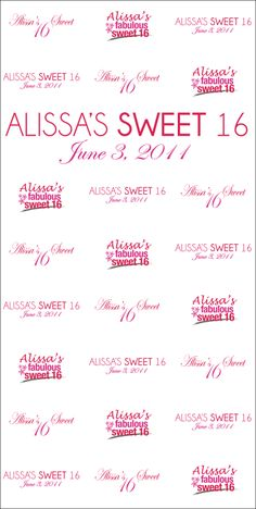 Alissa's Sweet 16 | Gold Portable package