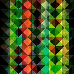 Kaleidotropic by Amelia Senville, via Behance