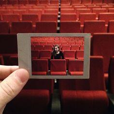 photo of a polaroid