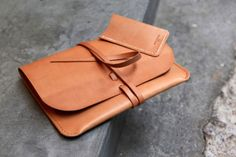 leather notebook case