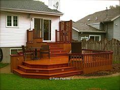 Patio Plus - Roof deck Gazebo On Deck, Roof Deck, Diy Pergola, Pergola Swing, Deck Landscaping, Backyard Patio Designs, Backyard Ideas, Gazebo Ideas, Patio Ideas