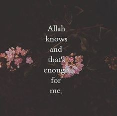 Allah is enough for me. Quran Quotes Love, Quran Quotes Inspirational, Allah Quotes, Muslim Quotes, Religious Quotes, Qoutes, Hindi Quotes, Hadith Quotes, Deep Quotes