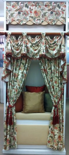 Venezla Victory Valance, Panels and Cameo Valance. Starting @ $89.99. To Order Call toll-free 877-722-1100