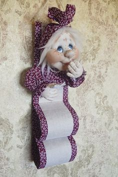 Easy Sewing Patterns, Hand Embroidery Patterns, Cat Fabric, Fabric Dolls, Diy Doll Toilet, Handmade Crafts, Diy Crafts, Sewing Crafts, Sewing Projects