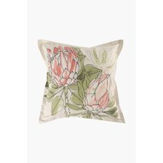 This scatter cushion cover with a stunning floral design is a great way to refresh the look of your living room. Inner sold separately.Dimensions:L55xW55 c
