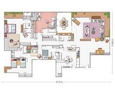 Un piso renovado con (mucho) acierto