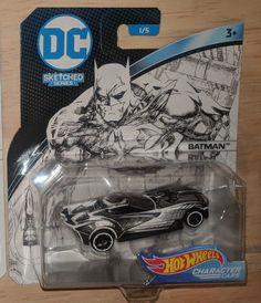 2018 Hot Wheels #01 Batman Justice League Batmobile