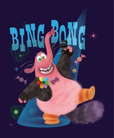 inside out pixar bing bong Disney Pixar, Disney Nerd, Disney Fan Art, Disney And Dreamworks, Disney Characters, Disney Inside Out, Disney And More, Disney Love, Disney Magic