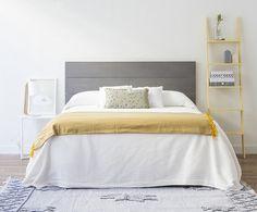 Originales cabeceros de cama de madera