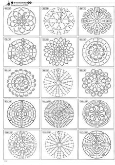 crochet autumn spice mandala doily 60 free crochet mandala patterns page 3 of 12 diy amp crafts - PIPicStats Crochet Circle Pattern, Crochet Chart, Crochet Squares, Thread Crochet, Diy Crochet, Crochet Doilies, Crochet Flowers, Crochet Stitches, Crochet Coaster