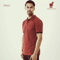 Inkognito Red Polo Shirt