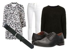 """leopard"" by n-rashida on Polyvore featuring Joie, Frame, Topshop, M&Co and Frye"