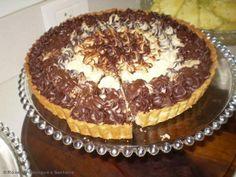 Receita de Torta trufada branca e preta