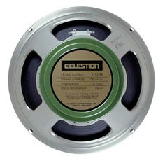The Celestion Greenback with its distinctive green magnet cover helped shape the sound of British Rock in the 60s and...