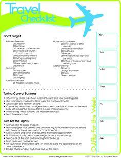 Hacer un checklist siempre es úti. ¡Inténtalo!