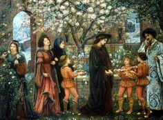 Marie Spartali Stillman Il giardino incantato