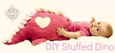 Free pattern to make this stuffed dinosaur