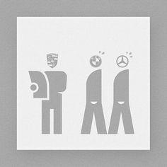 Modern society #graphic #modern #society #benz #mercedesbenz #bmw #porsche #graphicdesign #illust #illustration #pictogram #design #icon #symbol #meanimize #isotype #art #artwork #minimal #minimalism #frame #디자인 #일러스트 #픽토그램 #아이소타입
