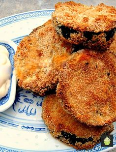 [ Diet Plans To Lose Weight : – Image : – Description Tasty Baked Eggplant. No frying and great flavor and crunch. Add your favorite dipping sauce and enjoy! Vegetable Dishes, Vegetable Recipes, Egg Plant Recipes Healthy, Recetas Salvadorenas, Great Recipes, Favorite Recipes, Cooking Recipes, Healthy Recipes, Healthy Baking