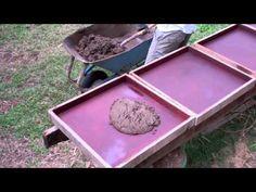 Soil-cement pavers