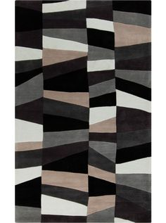 This Cosmopolitan Collection rug (COS-9188) is manufactured by Surya. Great contemporary designs with a bright color palette and a price in reach of every buyer.