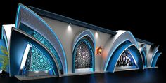tent on Behance Innovative Architecture, Modern Architecture House, Concept Architecture, Architecture Details, Gothic Architecture, Mosque Architecture, Religious Architecture, Tv Set Design, Stage Design