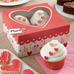 Tiny Hearts Valentine Cupcakes: