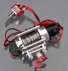 NEW Integy Realistic Power Winch 1/10 Rock Crawler C24659SILVER NIB #Integy