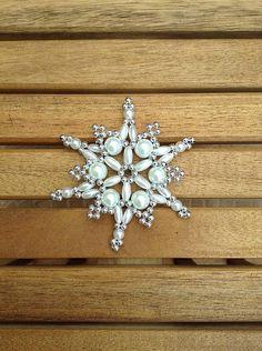 Vianočná hviezda silver/white / i.made - SAShE.sk - Handmade Dekorácie