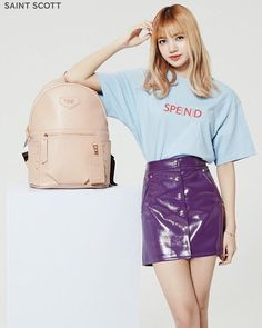 "5,046 Likes, 8 Comments - BLΛƆKPIИK LISA - 리사 | ลลิส (@lalisa.world) on Instagram: ""[ENDORSEMENT] 170512 BLACKPINK's Lisa's for Saint Scott London."""