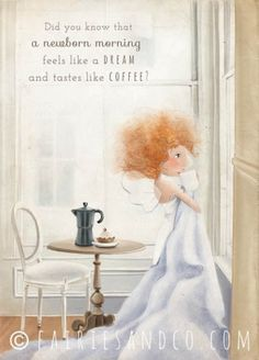 Morning Coffee Fairy -