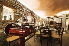 Cantina del ristorante a Domodossola