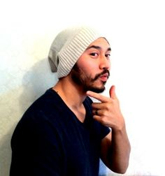 Beanie Hat Christmas gift Slouch cap Men Clothes by MissTopKnot, $30.00