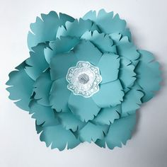Giant Paper Flower Templates | 3D Large Paper Flower Stencil Pattern | DIY Handmade Paper Flowers | Paper Flower Decor and Backdrop for Weddings and Events Silhouette Design, Silhouette Cameo, Silhouette Machine, Paper Flower Wall, Paper Flower Backdrop, Giant Paper Flowers, Big Flowers, Leaf Template, Flower Template