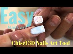 Use Chisel 3D Stamps Tool Kit to Make Beautiful easy ombre nails - How t...