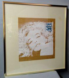 AVANT GARDE 2 Marilyn Monroe Trip Pop Art 1968 Framed Printers Proof at ephemarama
