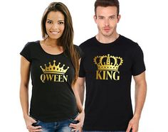 King and Qween shirts V2 Couples T-Shirts couples shirts