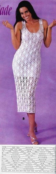 Платье (только схема рисунка)