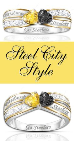 Steel City Style Love your Steelers? Make your passion part of your fashion with our NFL-licensed Pittsburgh Steelers ring. Steelers Rings, Pitsburgh Steelers, Here We Go Steelers, Pittsburgh Steelers Football, Steelers Stuff, Dallas Cowboys, Steelers Super Bowls, Steeler Nation, Indianapolis Colts