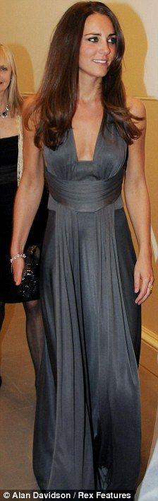 KATE MIDDLETON GREY DRESS