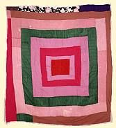 Lucy Witherspoon  Housetop, 1985p  Gee's Bend Quilters Collective
