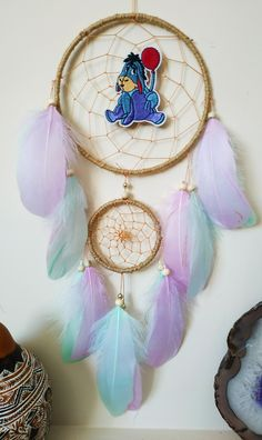 Your place to buy and sell all things handmade Dream Catcher Decor, Dream Catcher Nursery, Large Dream Catcher, Best Baby Gifts, Nursery Wall Decor, Wooden Beads, Wall Tapestry, Baby Shower Gifts, Crafts For Kids