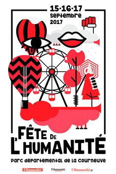 Fete de L'Humanite 2017 Festival Paris- La Courneuve