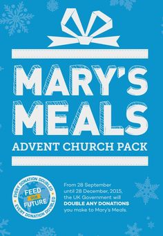 Mary's Meals, a charity providing one good meal a day for the world's most disadvantaged children.