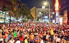 Acapulco zona de condesa co la visita de los motociclistas de todo México