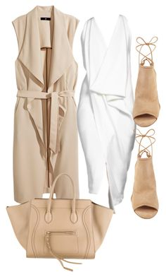 Untitled #270 by rhiannonkennedy on Polyvore featuring H&M, Aquazzura and Donna Karan