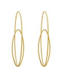 Earrings Antonio Bernardo Brazil - yellow gold 18kt - www.edelgedacht.be