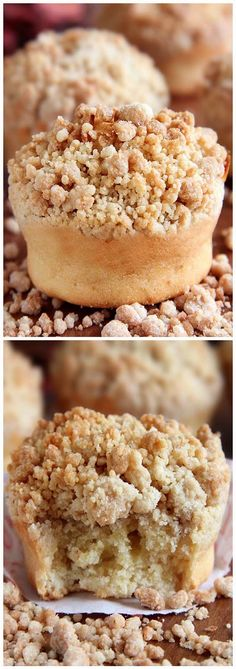 Cinnamon Crumb Coffe Cake Muffins | Easy and Quick Recipes