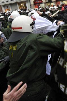 Die Gewalttätigkeit der Linksradikalen explodiert